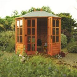 8ft x 6ft Ryton Summer House by Rowlinson®