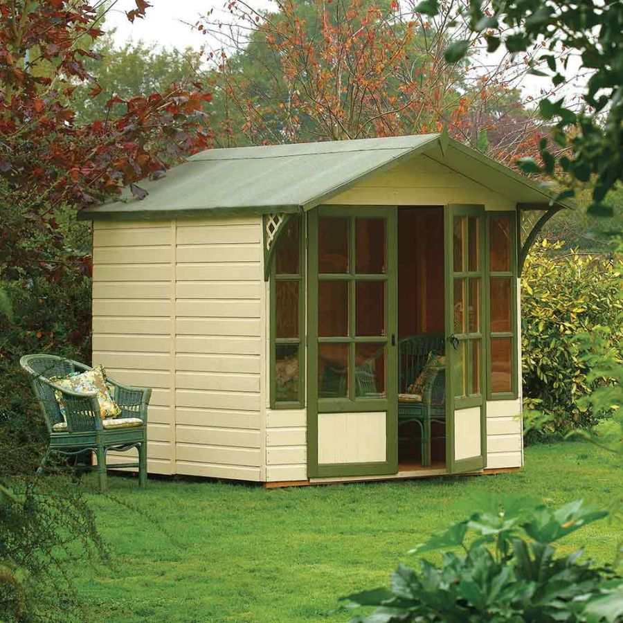 H2.2m (7ft 3in) Eaton Garden Summer House by Rowlinson®