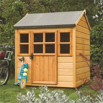 D1.18m (3ft 10in) Play House Little Lodge by Rowlinson®