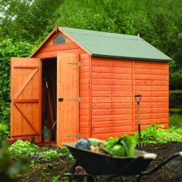 7ft x 5ft Shiplap Apex Security Shed by Rowlinson®