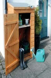 H1.5m (4ft 11in) Shiplap Mini Store by Rowlinson®