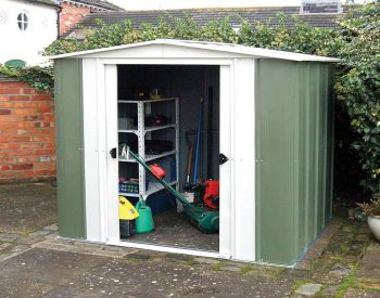 6x5 Metal Apex Shed