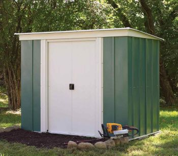 6x4 Metal Pent Shed