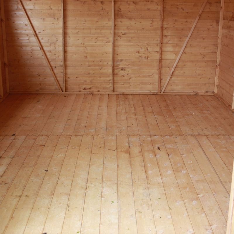 Mercia 10ft x 10ft Shiplap Tongue and Groove Workshop Shed