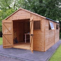 Mercia 16ft x 10ft Shiplap Tongue and Groove Workshop Shed