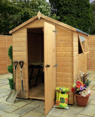Mercia 7ft x 5ft Shiplap Tongue and Groove Apex Shed