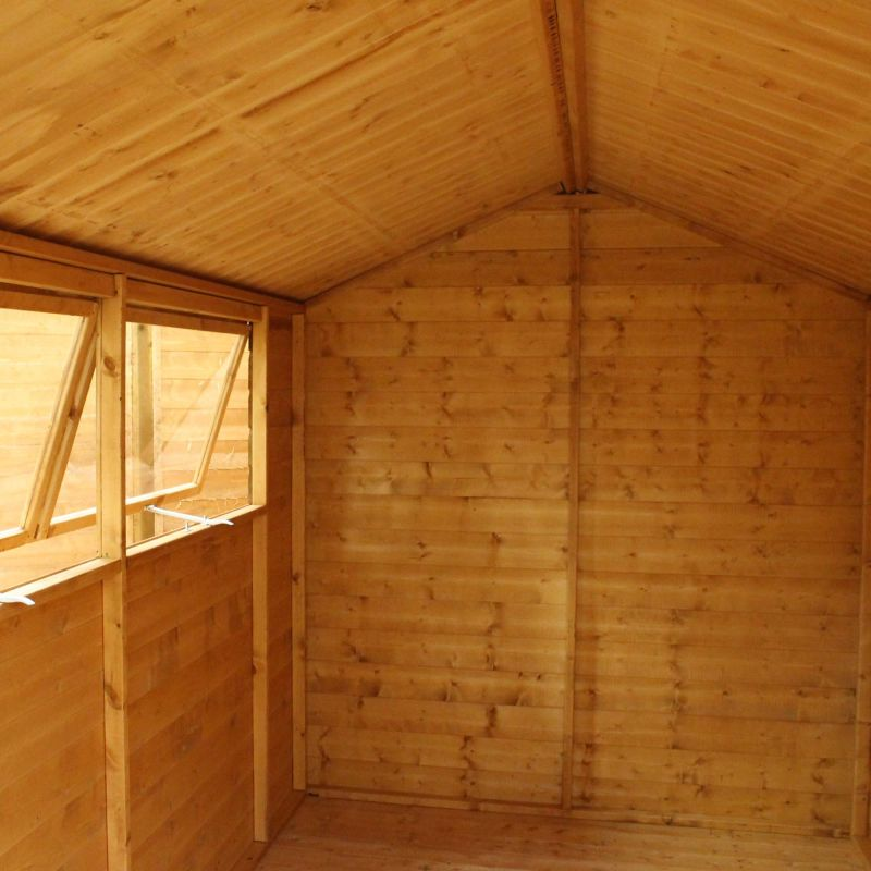 Mercia 10ft x 6ft Shiplap Tongue and Groove Apex Shed