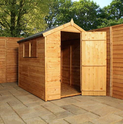 Mercia 6ft x 4ft Shiplap OSB Apex Shed
