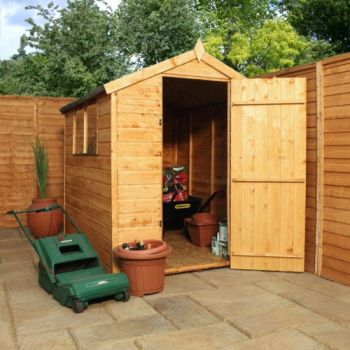 Mercia 7ft x 5ft Shiplap OSB Apex Shed