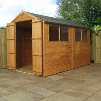 Mercia 10ft x 6ft Shiplap OSB Apex Shed