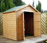 Mercia 5ft x 7ft Shiplap Apex Windowless Shed