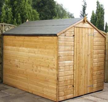 Mercia 8ft x 6ft Essential OSB Apex Windowless Shed