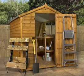 Mercia 7ft x 5ft Overlap Apex Shed