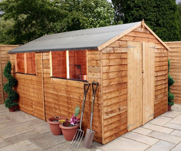 Mercia 12ft x 8ft Overlap Apex Shed