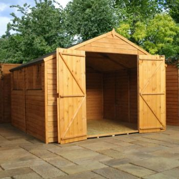 Mercia 10ft x 10ft Overlap Workshop Apex Shed