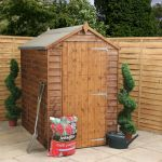 Mercia 6ft x 4ft Overlap Workshop Apex Shed