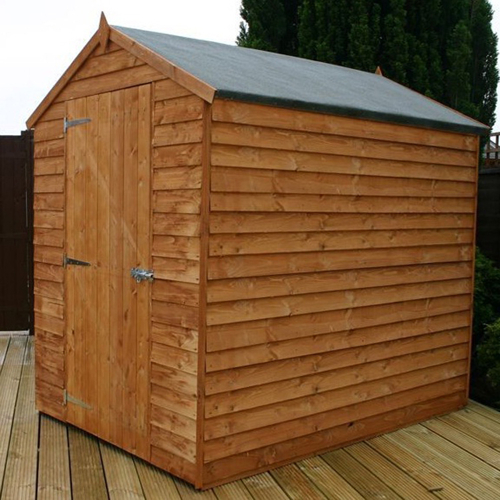 Mercia 7ft x 5ft Overlap Workshop Apex Shed