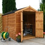 Mercia 10ft x 6ft Overlap Workshop Apex Shed