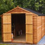 Mercia 10ft x 8ft Overlap Workshop Apex Shed