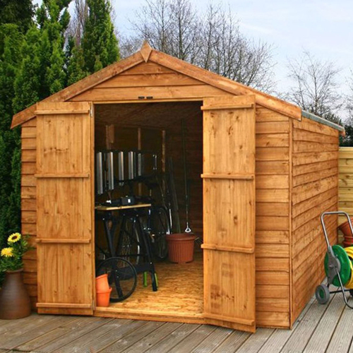 Mercia 12ft x 8ft Overlap Workshop Apex Shed