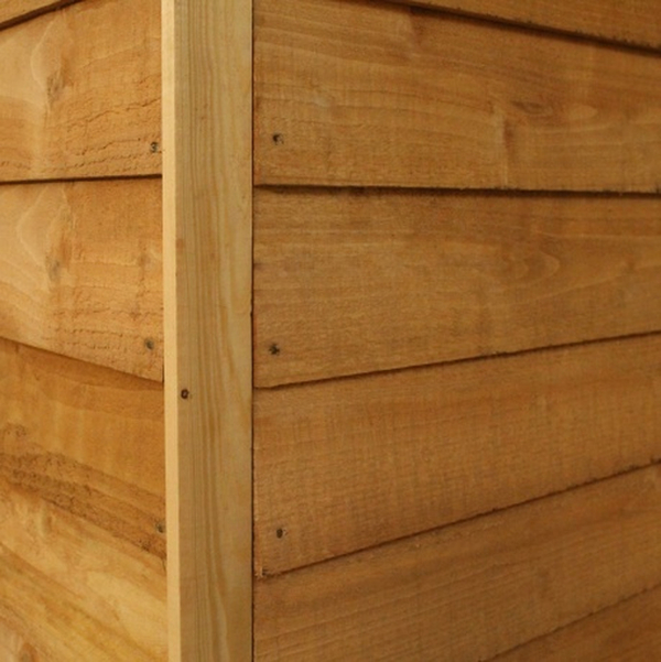 Mercia 7ft x 5ft Overlap Pent Shed