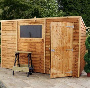 Mercia 6ft x 4ft Overlap Reverse Apex Shed