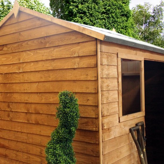 Mercia 6ft x 6ft Overlap Reverse Apex Shed