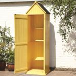 Whitstable 'Beach Hut' Garden Shed - Yellow