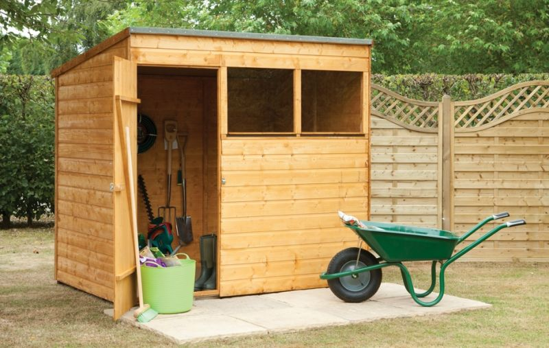 Forest Garden 7x5 Shiplap Pent Shed