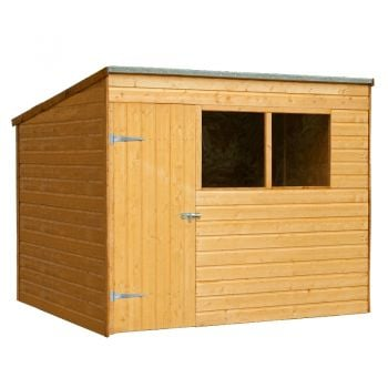 Forest Garden 6x8 Shiplap Pent Shed