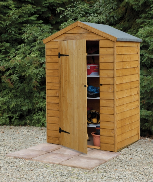 Forest Garden 4x3 Overlap Apex Shed