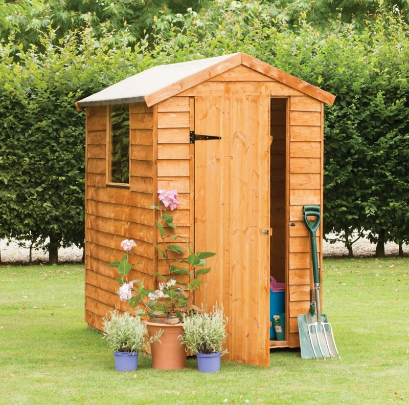 Forest Garden 6x4 Overlap Apex Shed