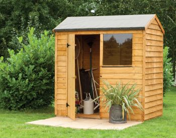 Forest Garden 6x4 Overlap Reverse Apex Shed