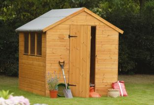 Forest Garden 5x7 Shiplap Apex Shed - Assembled