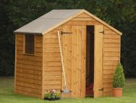 Forest Garden 7x5 Premium Overlap Shed - Assembled
