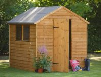 Forest Garden 8x6 Premium Overlap Shed