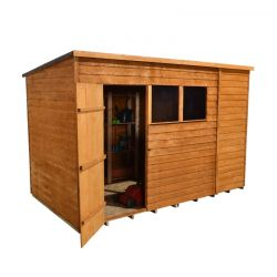 Forest Garden 10x6 Overlap Pent Shed