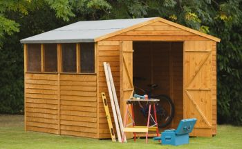 Forest Garden 10x8 Overlap Apex Workshop/Shed