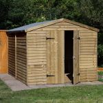 Forest Garden 10x8 Overlap Apex Security Workshop/Shed
