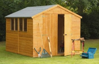 Forest Garden 10x8 Standard Shiplap Apex Workshop/Shed