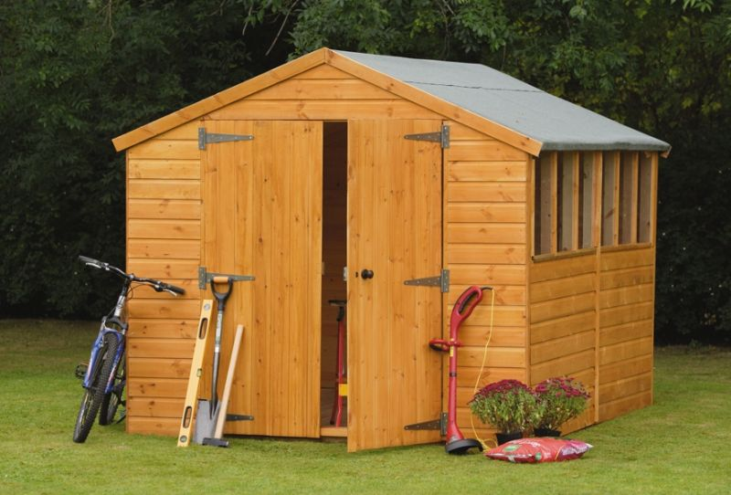 Forest Garden 12x8 Heavy Duty Shiplap Apex Workshop/Shed