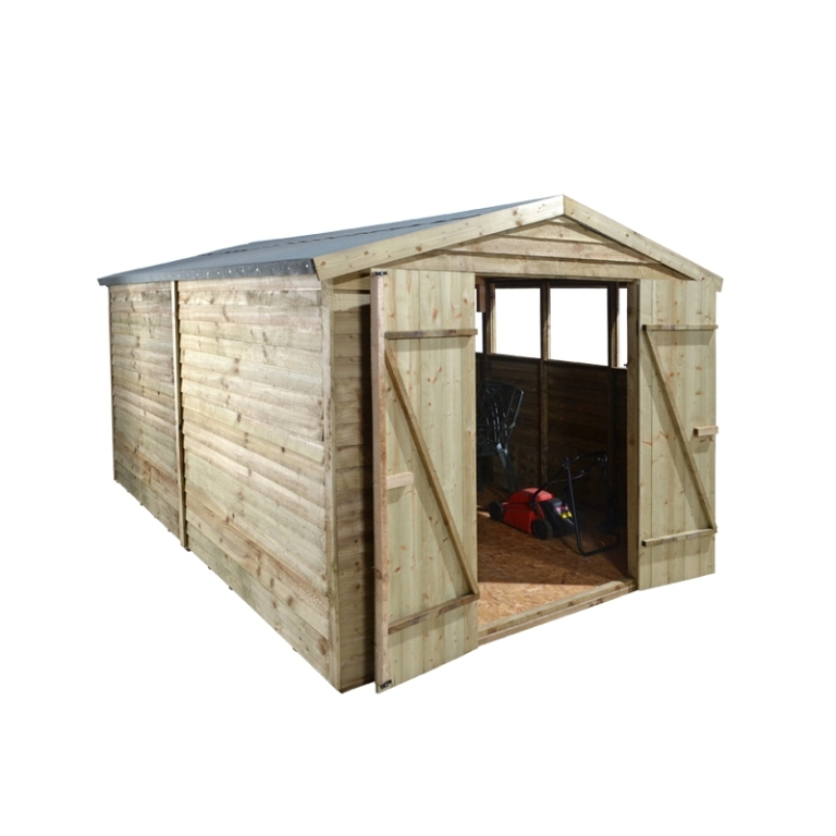 Forest Garden 12x8 Overlap Apex Workshop/Shed