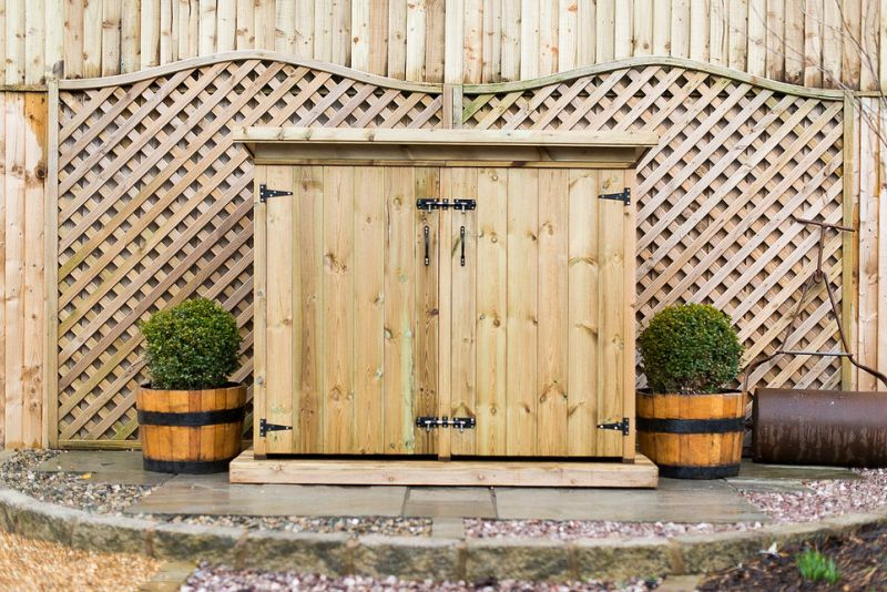 Deluxe treated Redwood Double Garden Store