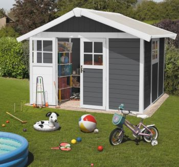 Garden Deco 7,5 Dark Grey Shed