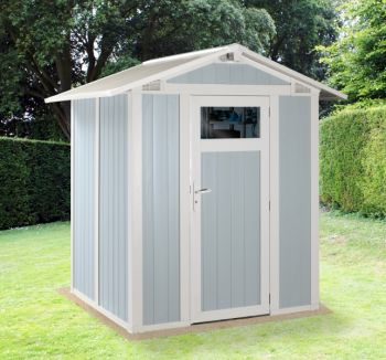 Utility 3B Blue & White Shed