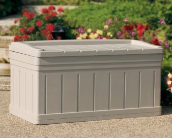 Garden Storage Deck Box with Seat - W135cm