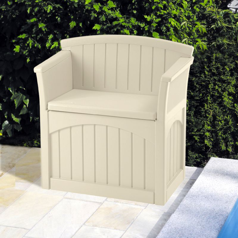 Patio Garden Storage Seat W78cm 163 102 99