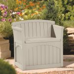 Patio Garden Storage Seat - W78cm