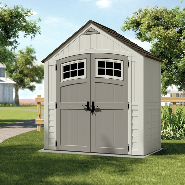 Apex Roof Garden Shed - 7ft x 4ft