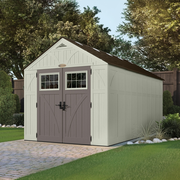Apex Tremont Garden Shed - 8ft x 16ft